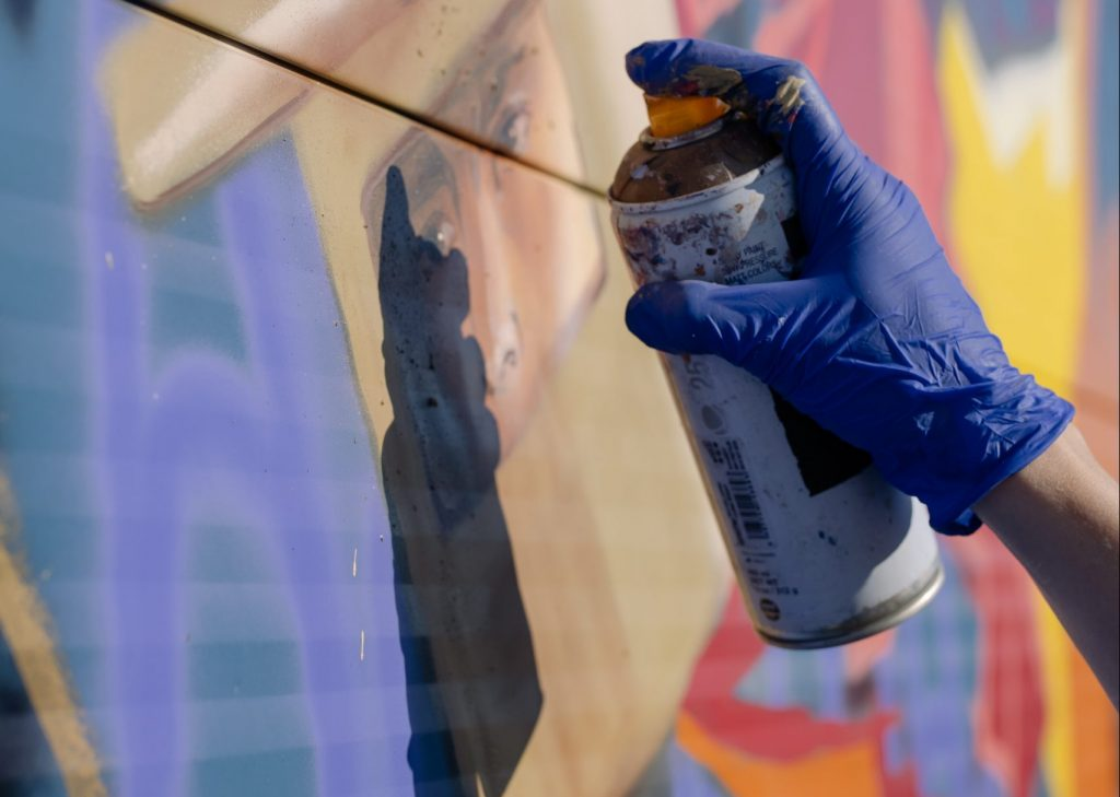 Spray Paint: Renovate Your House